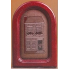 Colonial Windowbox Charm  Complete WITH Red Padauk frame