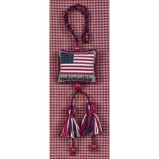 Indivisible Flag Fob