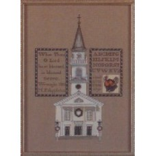 Storrowton Village Sampler Series I 1834 Meeting House West Springfield, Massachusetts